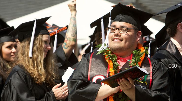 Photo of graduate, Oregon State University