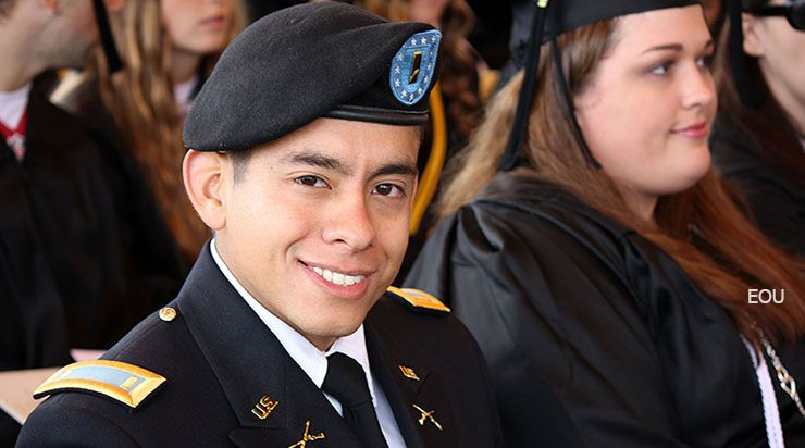 Photo of graduate, Eastern Oregon University