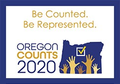 Oregon 2020 Census logo