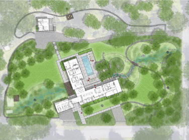 Image of Landscape Architect site plan