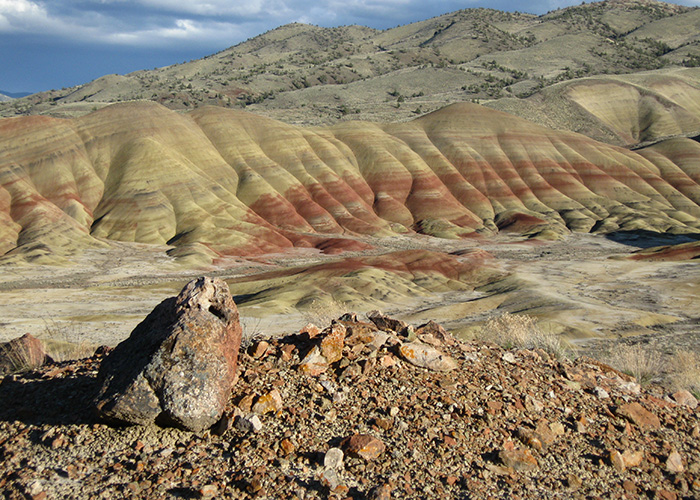 The Painted Hills in central Oregon