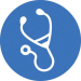 Icon for Health & Healthcare (stethescope)