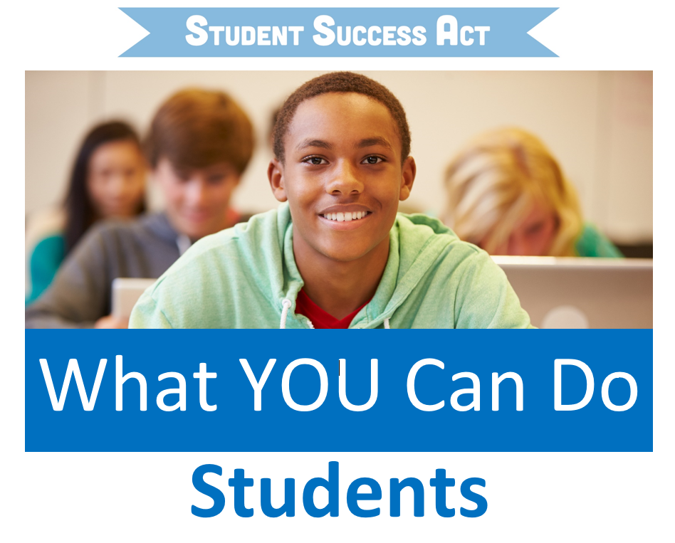 What You Can Do: Students