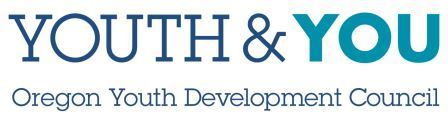 Youth and You. Oregon Youth Development Council