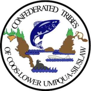 Confederated Tribes of Coos, Lower Umpqua and Siuslaw Indians Flag