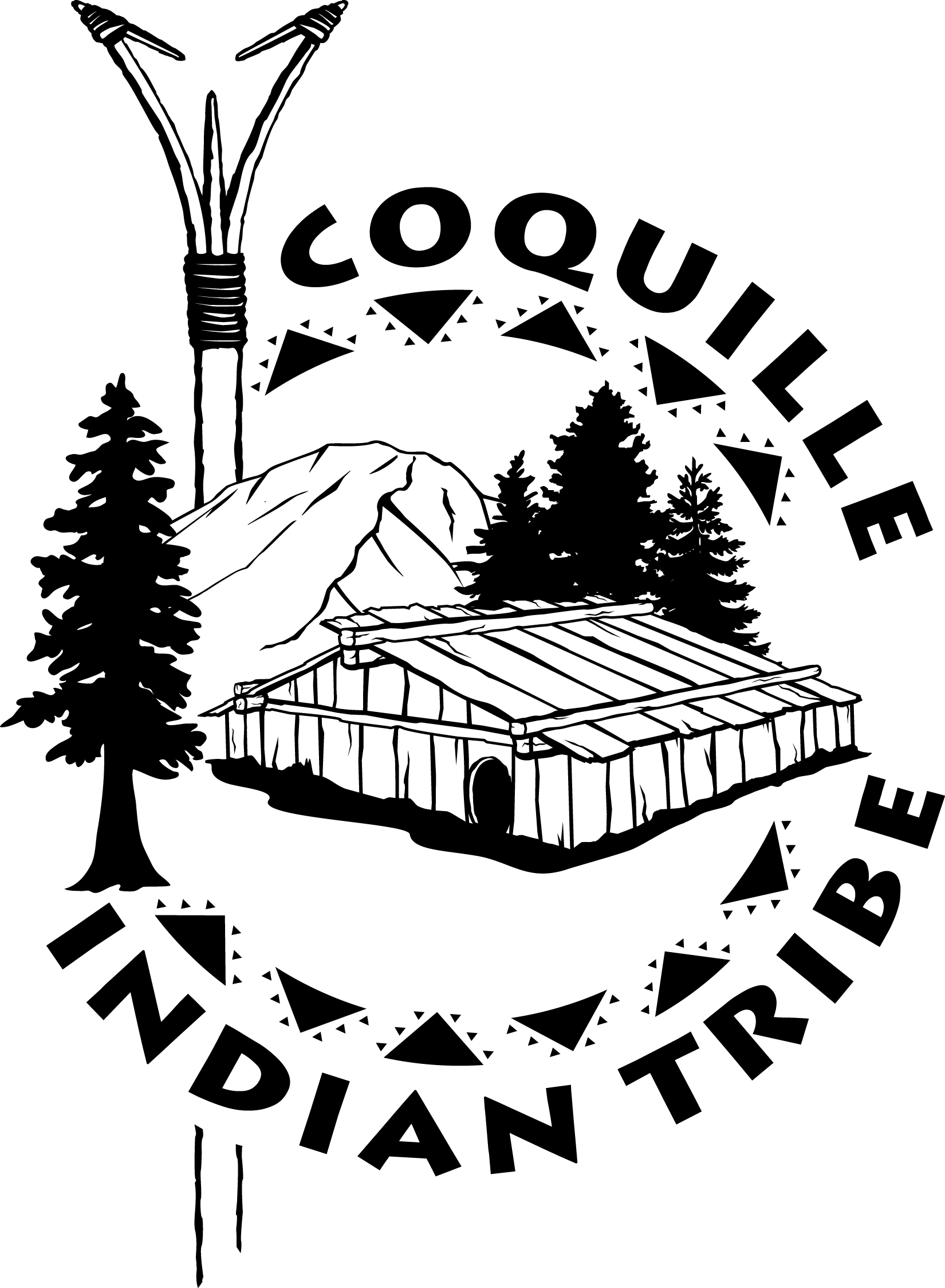 Coquille Indian Tribe Flag
