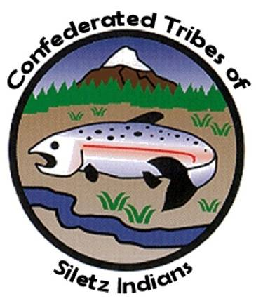 Confederated Tribes of Siletz Indians Flag