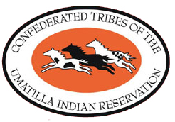 Confederated Tribes of the Umatilla Indian Reservation Flag