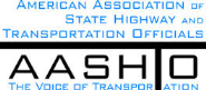 AASHTO: American Association of State Highway and Transportation Officials - The Voice of Transportation Logo