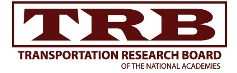 TRB: Transportation Research Board of the National Academies Logo
