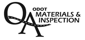 An image of the phrase ODOT Materials & Inspection and the letters Q and A