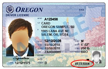 Oregon Driver License
