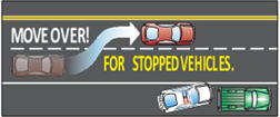 Move Over for Stopped Vehicles
