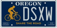 Share the Road Plate