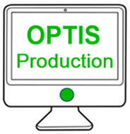 OPTIS Production Environment logo and link
