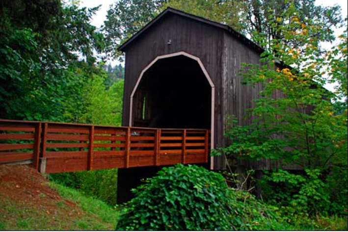 Pass Creek Covered Bridge