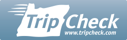 TripCheck logo badge