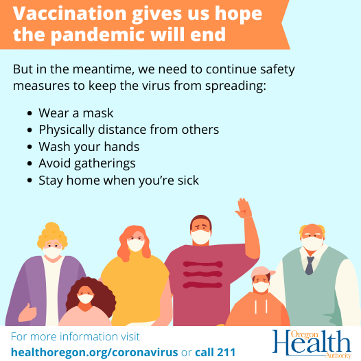 vaccination gives us hope