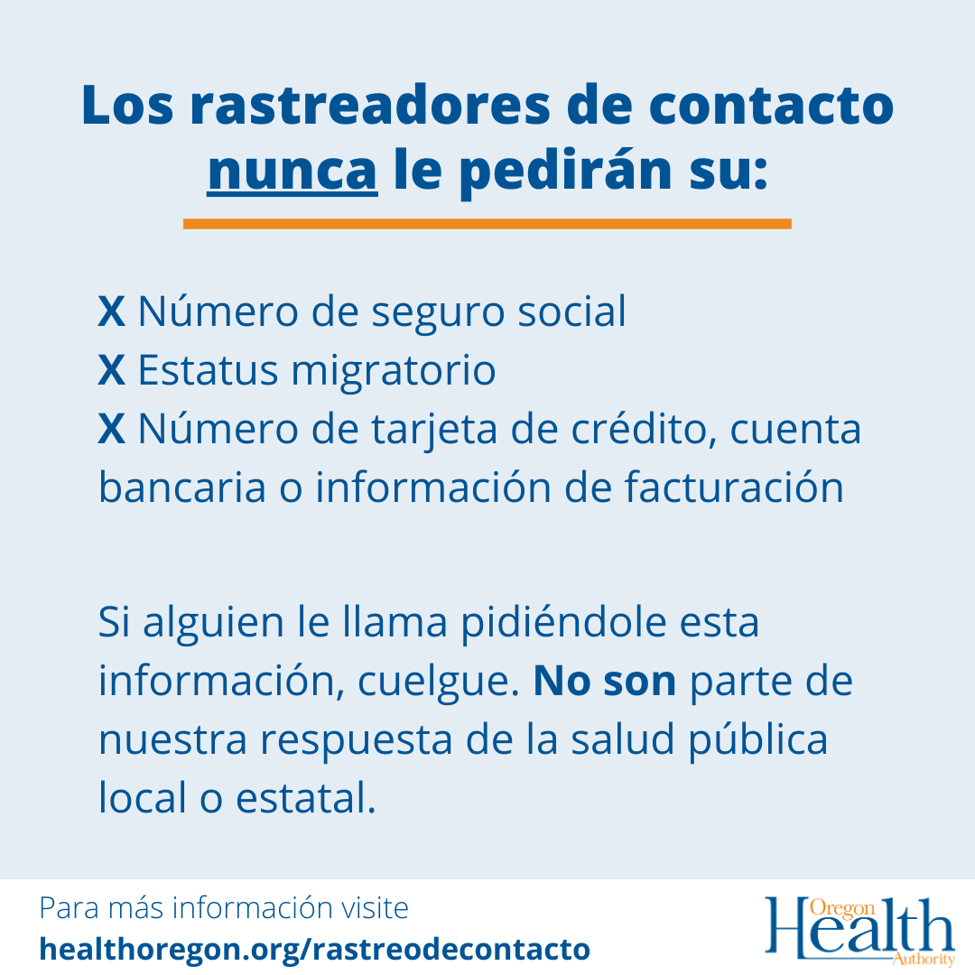 los rastreadores de contact nunca le pediran