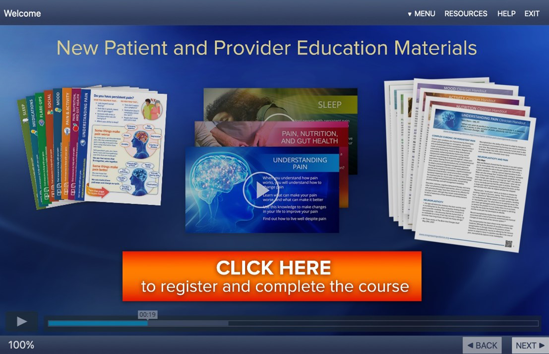 pain management education