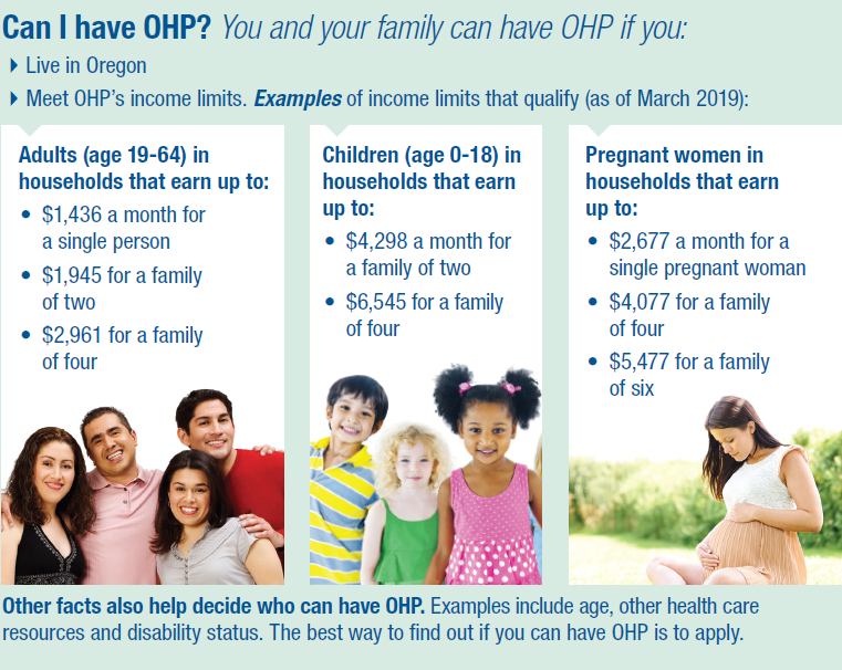 Oregon Health Authority : Apply for OHP : Oregon Health Plan