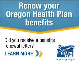 Renew your Oregon Health Plan benefits