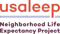 USALEEP Neighborhood Life Expectancy Project logo