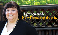 colon cancer screening ad: I got screened, now I'm talking about it