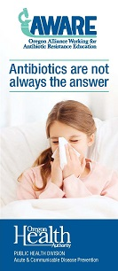 Antibiotics are not always the answer, parent version, English cover