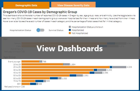 View Data Dashboards