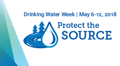 Drinking Water Week May 7-13, 2017. Your Water, to know it is to love it.