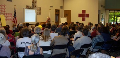 DEQ staff hosted a public meeting on November 1, 2007, at the Red Cross Building in Bethel