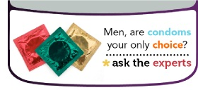 Men, are condoms your only choice?
