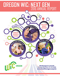 cover of 2016 WIC Annual Report