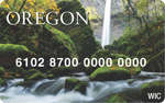 Oregon eWIC card