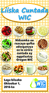 Oregon WIC Food List cover - Somali