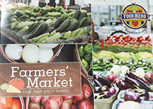 Cover of Farmers' Market cookbook