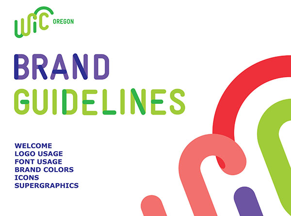 Oregon WIC logo brand guidelines