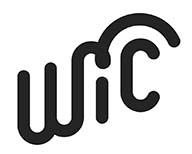 WIC logo black and white
