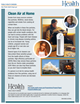 clean air at home fact sheet