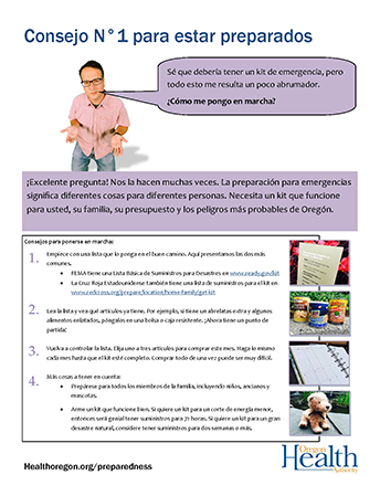 Poster: Get Started (Spanish - pdf)