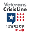 Veterans: 1-800-273-8255. Press 1