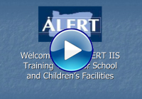 ALERT video welcome page
