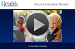 Begin Vaccine Exemptions emodule