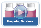 Click to play: Preparing Vaccines