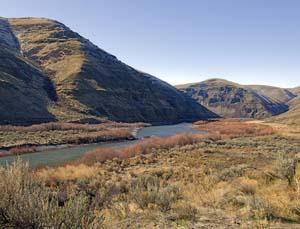 John Day River at Cottonwood Canyon State Park
