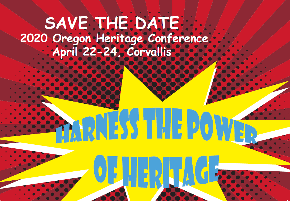 Heritage Conference save the graphic