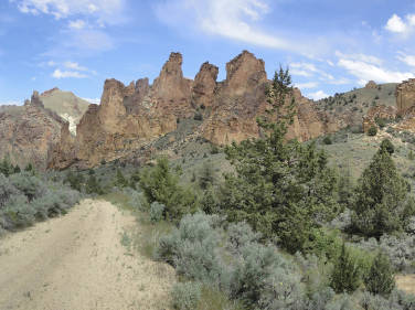 image of Eastern Oregon landscape