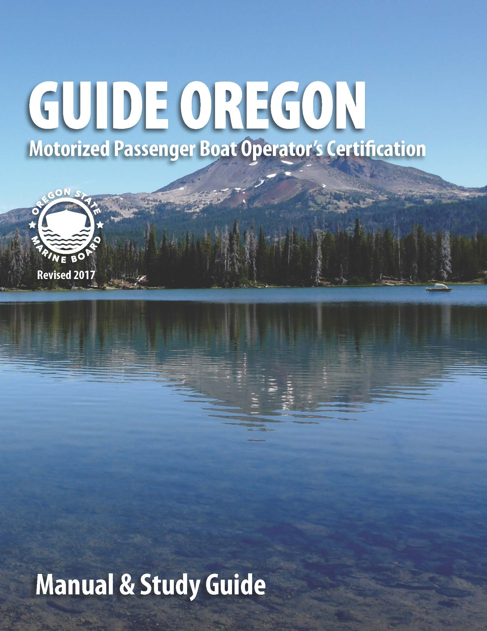 Guide Oregon cover