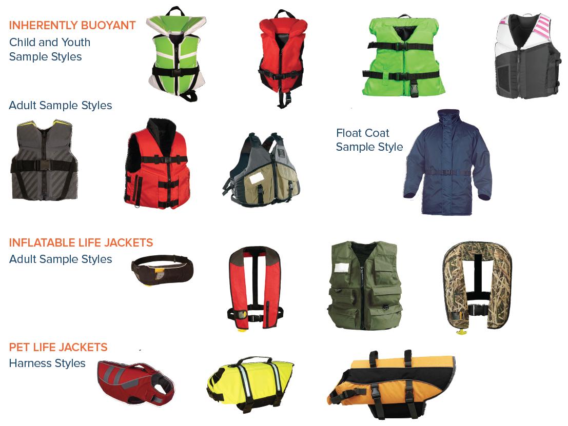 Life jacket style images